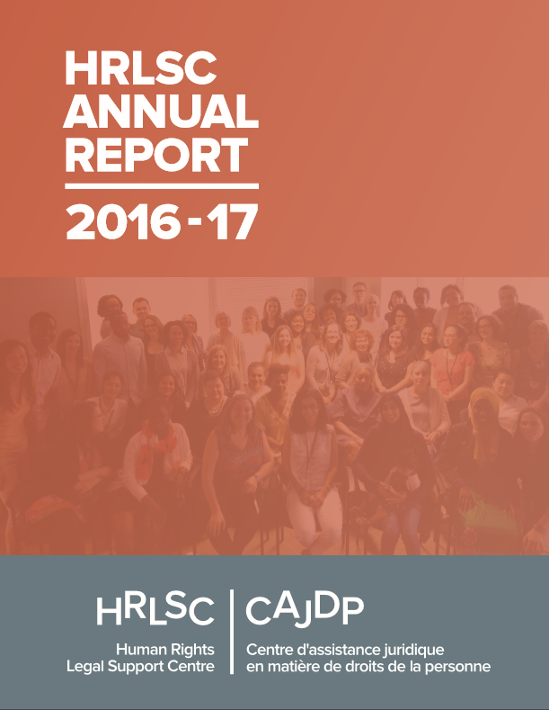 2016-2017 Annual Report Cover photo